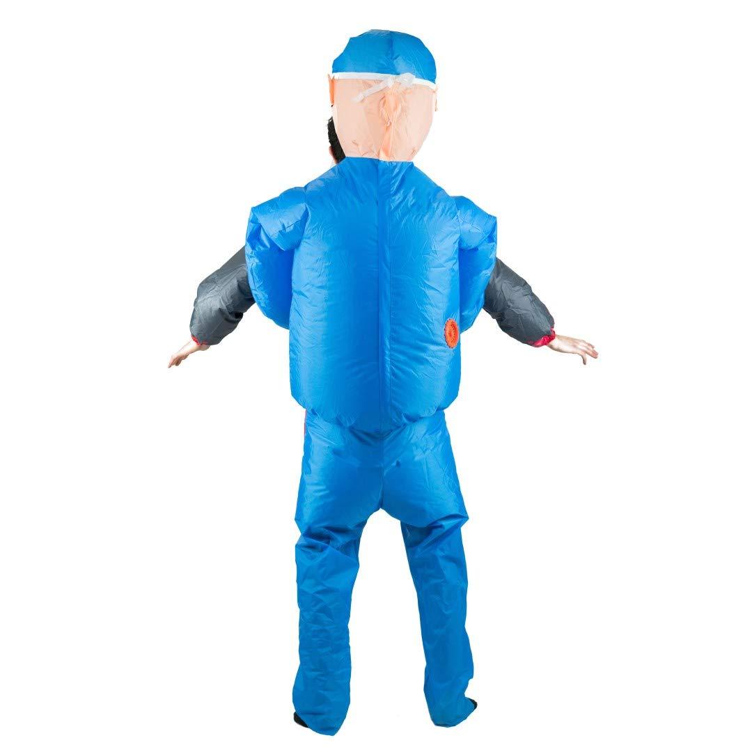 Bodysocks® Disfraz Hinchable de Cirujano Adulto: Amazon.es ...