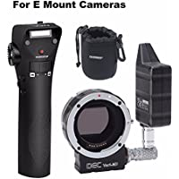 Aputure DEC Vari-ND ND8 to ND2048 Using EF-mount Lenses to E Mount Cameras w/ EACHSHOT Lens Pouch