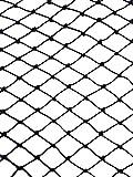 25' X 50' Net Netting for Bird Poultry Aviary Game Pens !!