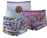 Handcraft Manufacturing Corp. Girls Disney Fairies Tinkerbell Friends 3 Pack Girls Panties