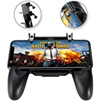 COCASES Key Gaming Grip Joysticks for Rules of Survival Compatible 4.5-6.5 inch Smartphones (Black)