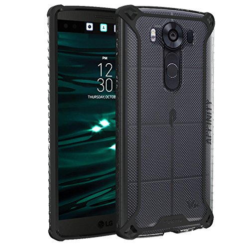 Poetic Poetic Affinity Series X-Form TPU PC Bumper Case for LG V10 - Black/Clear