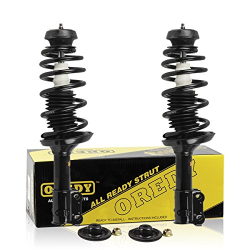 OREDY Front Pair Complete Quick Strut Shock Assembly Kit 171933 11410 145022 Compatible with 1993 1994 1995 1996 1997 1998 VW Golf (1996 Volkswagen Golf Shock)