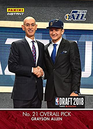 Amazon Com 2018 Grayson Allen Utah Jazz Rookie 21 Nba Draft Pick