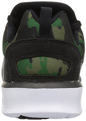 Dc Heren Heathrow Se Skate Skateboarder Zwart / Camo