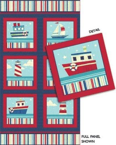 Nautical Quilting Fabric (23.5