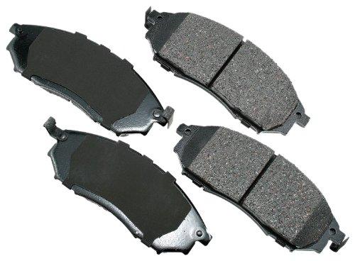 Akebono ACT888 ProACT Ultra-Premium Ceramic Brake Pad Set