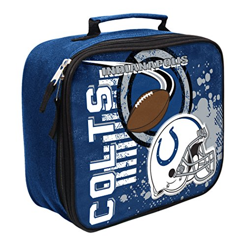 Kit Accelerator Graphic - The Northwest Company Officially Licensed NFL Indianapolis Colts Unisex Accelerator Lunch Kit, Red