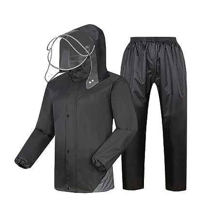 Traje impermeable de la motocicleta Pantalones impermeables ...