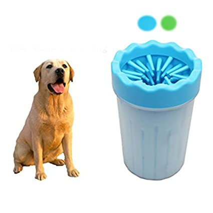 Amazon Com Dupet Pet Dog Paw Cleaner Pet Feet Washer Cup For