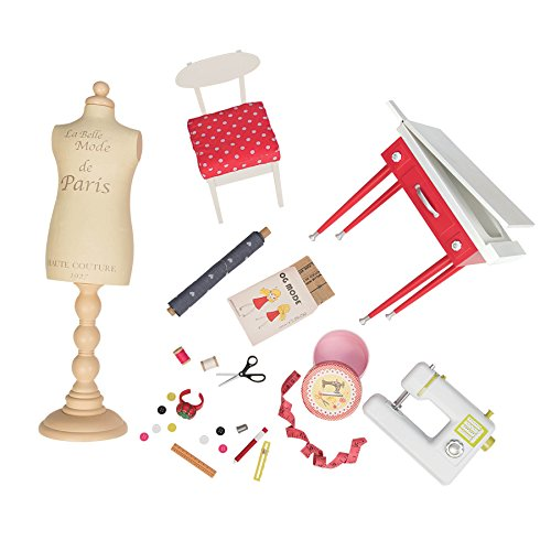 Our Generation Dolls It Seams Perfect Pretend Dressmaking Set for 18
