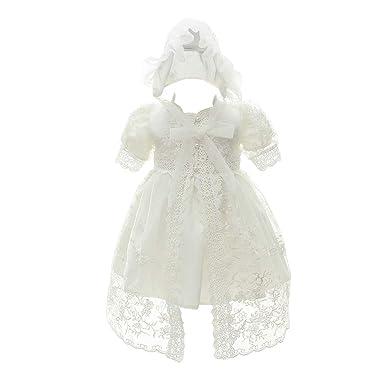 Zhhlinyuan Vestido de Princesa Elegante Bebés Niñas Traje de ...