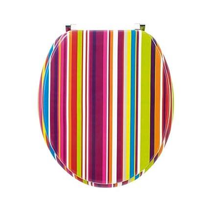 Sensational Funky Stripe Toilet Seat Amazon Co Uk Kitchen Home Short Links Chair Design For Home Short Linksinfo