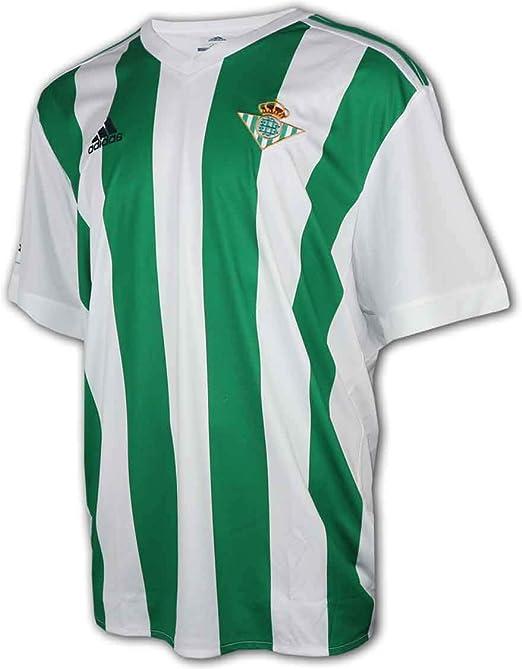 Anónimo compilar Indiferencia  adidas Betis H JSY Camiseta de Equipación, Hombre: Amazon.es: Ropa y  accesorios