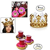 Inflatable crown hat/children's headdress decorating toys/birthday hat dance party decorations props