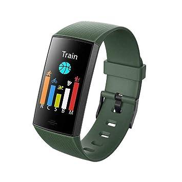 pyouhe Frecuencia cardíaca en Tiempo Real Detección de O2 Mensaje Social Recordatorio de Llamada Reloj Inteligente Smartwatches