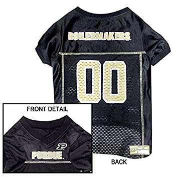 purdue boilermakers dog jersey all sizes licensed ncaa small
