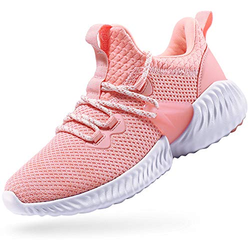 fd068bb15b7 CAMEL CROWN Trail Running Shoes Non Slip Lightweight Casual Fashion  Sneakers Sports Athletic Gym Walking Shoes for Men and Women Pink 8.5B(M) US