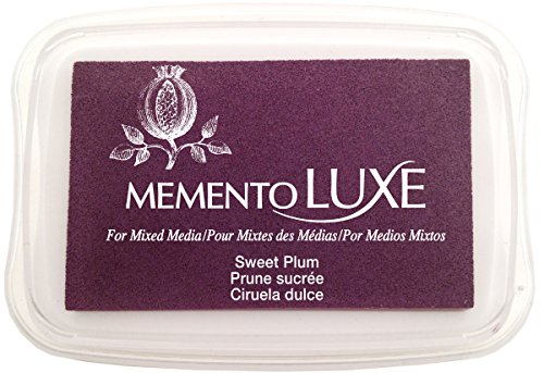 Tsukineko Memento Luxe Mixed Media Inkpad, Sweet Plum