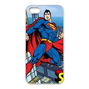 iPhone 5 5s Cell Phone Case White Superman in the Sky Mpeun