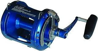 product image for Avet EXW50/2RH-BL 2-Speed Reel, Blue, Right Hand
