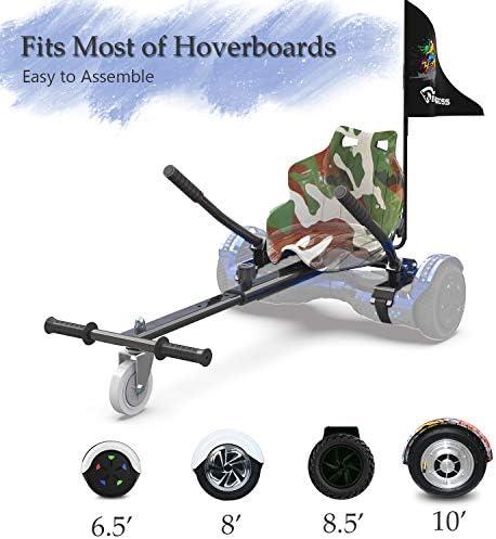 NEOMOTION Pack de Hoverboard de 6.5 Pulgadas y Hoverkart Patinete ...