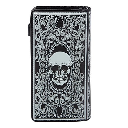 orange Black Purse Various Bench colors Ladies designs Large Shagwear and Young Skull Card Wallet Park Uw6nCwqpIP