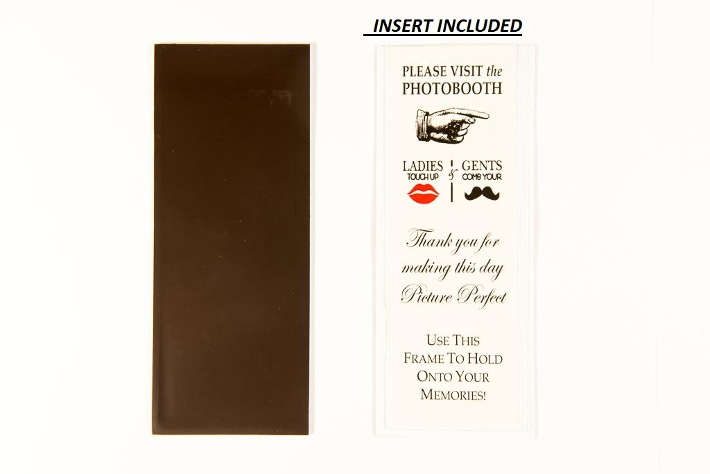 Photo Booth Frames Magnetic for 2'' X 6'' Photo Strips (100) by Photo Booth Frames