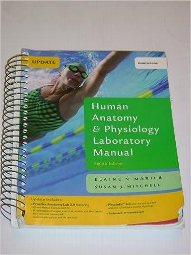 Amazon.com: Human Anatomy & Physiology Laboratory Manual, Main ...
