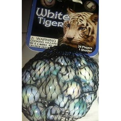 Fabricas Selectas White Tiger Marble Set: Toys & Games