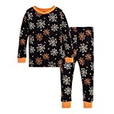 Burt's Bees Baby Unisex Baby Pajamas, Tee and Pant 2-Piece PJ Set, 100% Organic Cotton, Itsy Bitsy Spider, 5 Years: more info
