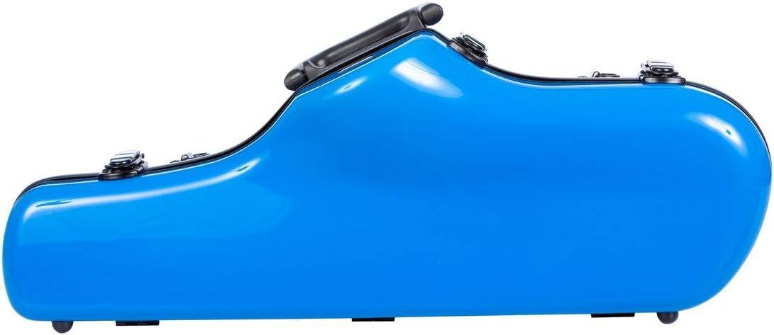 Estuche para Saxofón Alto fibra de vidrio Ultra Light blue light M-Case: Amazon.es: Instrumentos musicales