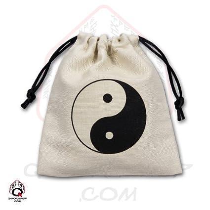 Amazon.com: Q-Workshop: Bolsa de Yin-Yang – Bolsa de Dados ...