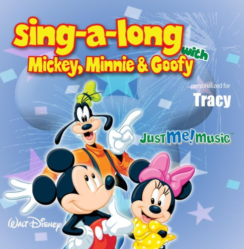 Price comparison product image Sing Along with Mickey,  Minnie and Goofy: Tracy