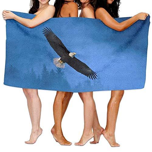 X-Large Bath Towels, Flying Eagle Super Soft Ultra Absorbent Bath Towel for Men Women Kids, Bathroom (Eagles Paper Clip Holder)
