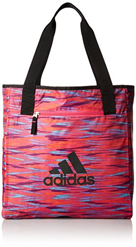 adidas 200581 Women's Studio II Tote Bag, One Size, Shock Pi