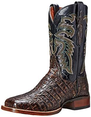 Dan Post Men's Everglades SQ Western Boot, Brown, 7 D US