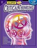 Math Critical Thinking, Grades 5-8, Pamela Amick Klawitter, 0881603392