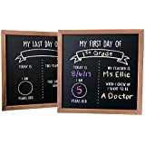 """First and Last Day of School Reusable Chalkboard Sign 
