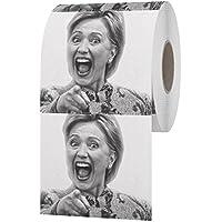 Funny Toilet Brand Hillary Clinton Toilet Paper