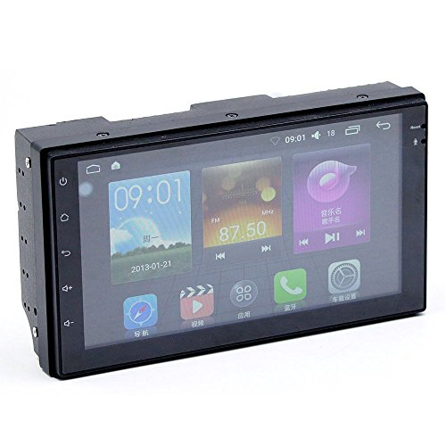 TOOGOO Android Car Radio mp4 mp5 Player Bluetooth wi-fi Navigation GPS 1G 16G Touch Screen 4 core 7 inch 2 DIN Stereo Audio (4 led Camera) by TOOGOO (Image #2)