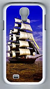 Samsung Galaxy S4 Case and Cover- Pirate Ship PC Hard Case for Samsung Galaxy S4 / SIV/ I9500 White