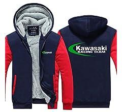 Outwear Chaqueta con Capucha Suéter - Kawasaki Imprimir ...