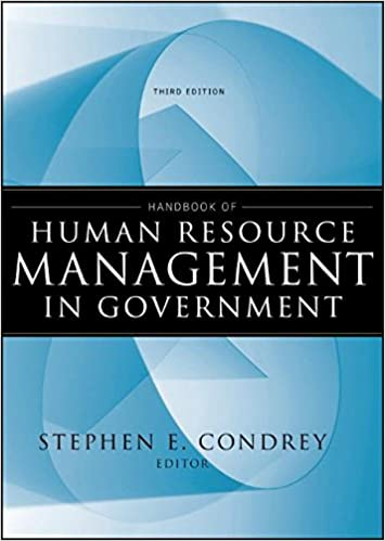 Handbook of human resource management in government stephen e handbook of human resource management in government 3rd edition fandeluxe Choice Image