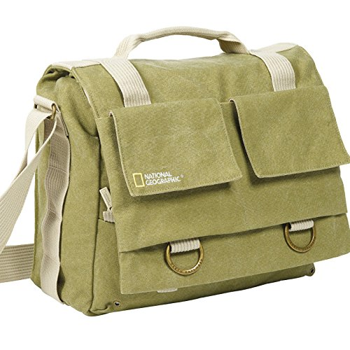 National Geographic NG 2476 Earth Explorer Medium Messenger (Bag Geographic Explorer Earth National)