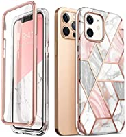 i-Blason Cosmo Series Case for iPhone 12 / iPhone 12 Pro 5G 6.1 inch (2020 Release), Slim Full-Body Stylish Pr