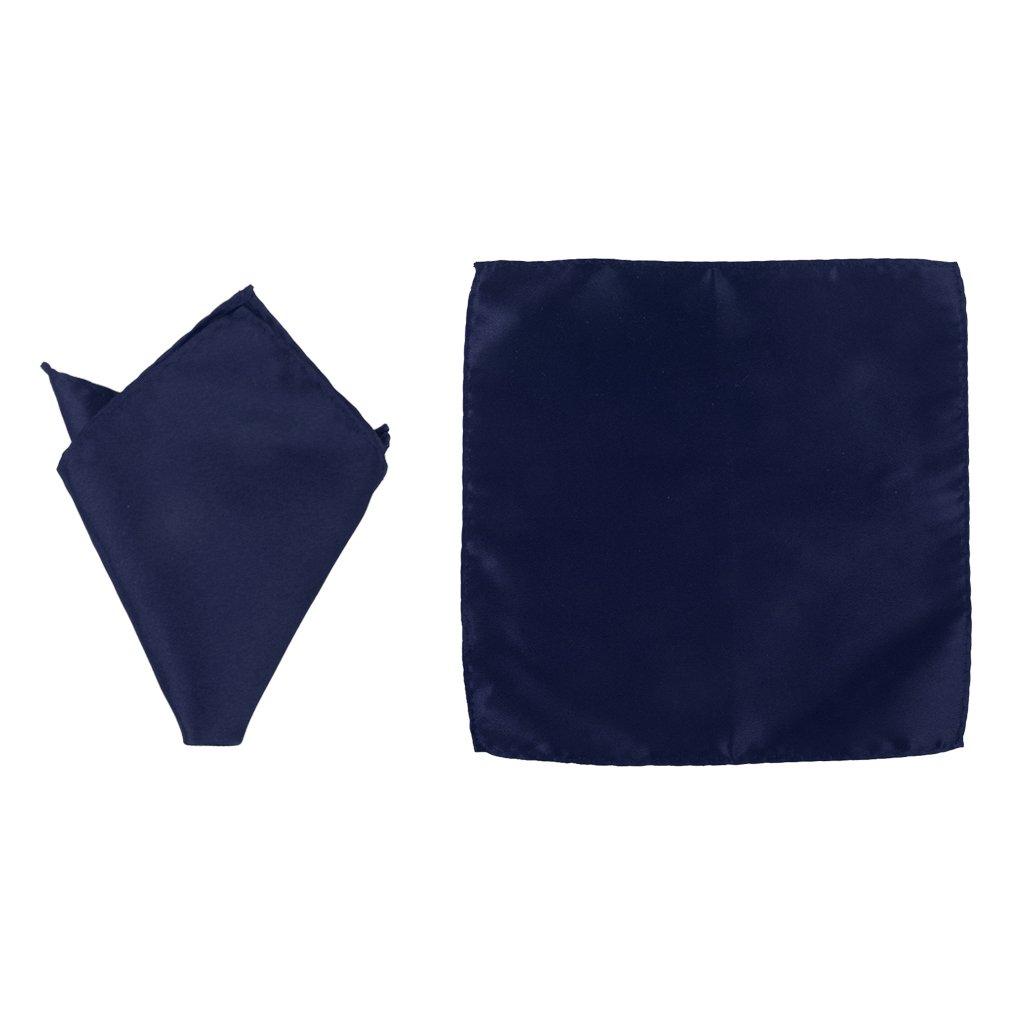 Azul Profundo Estilo 7 Baosity Set Da Smoking Da Uomo In Raso Con Cintura E Fiocco