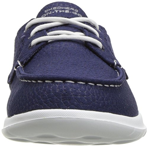 Skechers Women's Go Walk Lite-Eclipse Boat Shoe Navy enjoy shopping discount 100% guaranteed fast delivery cheap online collections sale online visit new qyYHoI