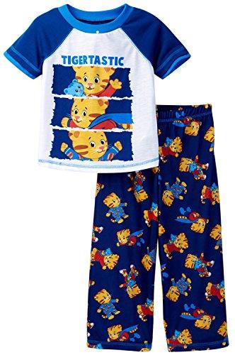 (Daniel Tiger's Neighborhood Toddler Pajamas (3T, Tigertastic Blue))