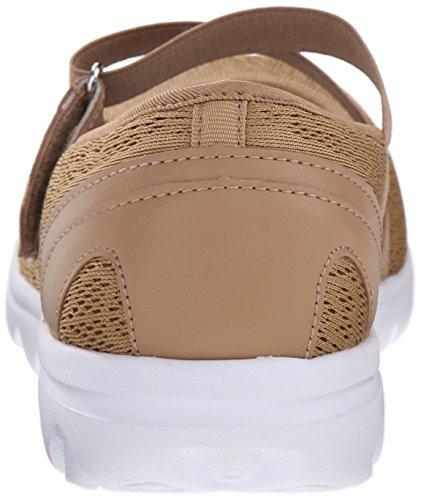 Propét Frauen TravelActiv Mary Jane Fashion Sneaker Honig
